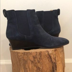 Talbots Isabel wedge ankle boots